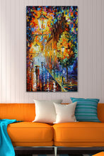 Wall Art  by Leonid Afremov  Lights In The Night