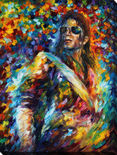 "Wall Art by Leonid Afremov ""Michael Jackson"", All Canvas Art,All Subjects,Celebrities,All Colors,All Shapes,All Artists,multi-color art,Portrait Shape,Leonid Afremov"