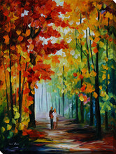 "Wall Art by Leonid Afremov ""Morning In The Woods"", All Canvas Art,All Subjects,Landscapes,All Colors,All Shapes,All Artists,multi-color art,Portrait Shape,Leonid Afremov"