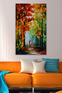 Wall Art  by Leonid Afremov  Morning In The Woods