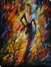 "Wall Art by Leonid Afremov ""Queen Of Fire"", All Canvas Art,All Subjects,Figurative,All Colors,All Shapes,All Artists,multi-color art,Portrait Shape,Leonid Afremov"