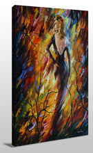 Wall Art  by Leonid Afremov  Queen Of Fire