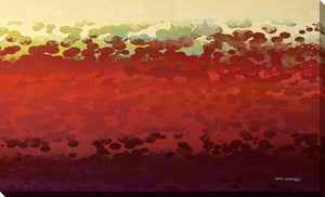 "Giclee Stretched Canvas Wall Art by Mark Lawrence ""Grace In My Sight. Exodus 33:12"",Canvas Art,Abstract,Mark Lawrence,All Artists,red art,Landscape Shape"