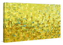 "Giclee Stretched Canvas Wall Art by Mark Lawrence ""Walk In The Spirit. Galatians 5:25"",Canvas Art,Abstract,Mark Lawrence,All Artists,yellow art,Landscape Shape"