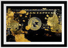 "BY Jodi ""Amex"" Framed Acrylic  Fashion Art"