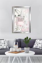 "BY Jodi ""Book Of Fashion"" Framed Acrylic  Fashion Art"