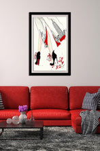 "BY Jodi ""Spring In Nyc"" Framed Acrylic  Fashion Art Shoes"