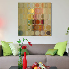 Mark Lawrence Circles and Squares #49 Giclee Print Canvas Wall Art
