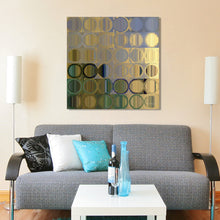 Mark Lawrence Circles and Squares #50 Giclee Print Canvas Wall Art