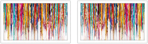 Wall Art Set , Artist: Mark Lawrence , Oversized Wall Art Sets of 2