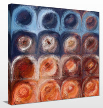 Mark Lawrence Circles and Squares 56 Autumn Sunrise Canvas Wall Art
