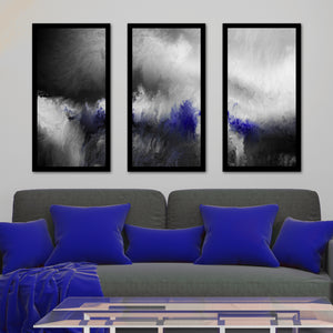 Wall Art Set , Framed Plexiglass Wall Art Set of 3