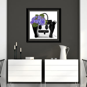 "Acrylic Art , Frame: 2"" Black , Framed Plexiglass Wall Décor"