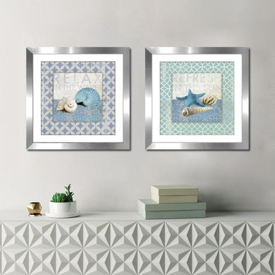 Wall Art Set , Matted & Framed Wall Art Sets of 2, Matching Set