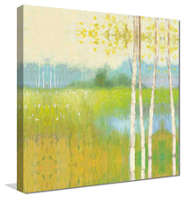 Spring Fling II by Julia Purinton Print on Canvas Landscapes,Green art,Square Shape,All Canvas Art,Julia Purington