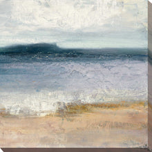 Indigo Isle II by Julia Purinton Print on Canvas Sea and Shore,Blue art,Square Shape,All Canvas Art,Julia Purington