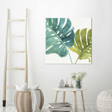 Mixed Greens LXXV by Lisa Audit Print on Canvas Floral,Green art,Square Shape,All Canvas Art,Lisa Audit