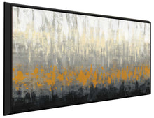 Rain on the Asphalt IV by Silvia Vassileva Print on Canvas in Floating Frame Abstract,Gray art,Landscape Shape,All Floating Canvas,Silvia Vassileva