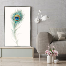Jaipur IX Print on Canvas in Floating Frame Floral,White art,Portrait Shape,All Floating Canvas,Danhui Nai
