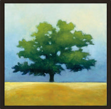 Under the Oak I by Julia Purinton Print on Canvas in Floating Frame Landscapes,Green art,Square Shape,All Floating Canvas,Julia Purington