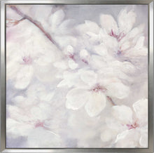 Cherry Blossoms II by Julia Purinton Print on Canvas in Floating Frame Floral,Gray art,Square Shape,All Floating Canvas,Julia Purington