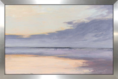 Shore by Julia Purinton Print on Acrylic Sea and Shore,Purple art,Landscape Shape,All Acrylic Art,Julia Purington,All Subjects,All Colors,All Shapes,All Artists
