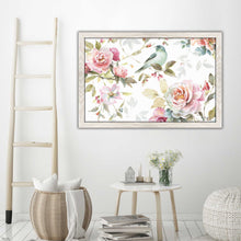 Beautiful Romance III by Lisa Audit Print on Acrylic Floral,White art,Landscape Shape,All Acrylic Art,Lisa Audit,All Subjects,All Colors,All Shapes,All Artists