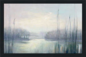 Misty Memories by Julia Purinton Print on Acrylic Landscapes,Gray art,Landscape Shape,All Acrylic Art,Julia Purington,All Subjects,All Colors,All Shapes,All Artists