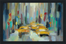 Manhattan Sketches II IV by Silvia Vassileva Print on Acrylic Cityscapes,Blue art,Landscape Shape,All Acrylic Art,Silvia Vassileva,All Subjects,All Colors,All Shapes,All Artists