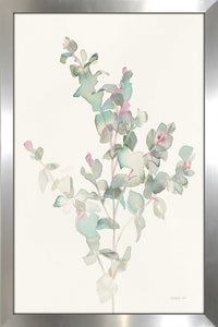 Eucalyptus II Print on Acrylic Floral,White art,Portrait Shape,All Acrylic Art,Danhui Nai,All Subjects,All Colors,All Shapes,All Artists