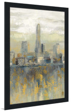 Manhattan Fog III by Silvia Vassileva Print on Acrylic Cityscapes,Gray art,Portrait Shape,All Acrylic Art,Silvia Vassileva,All Subjects,All Colors,All Shapes,All Artists