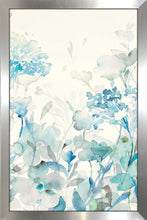 Translucent Garden Blue III Print on Acrylic Floral,Blue art,Portrait Shape,All Acrylic Art,Danhui Nai,All Subjects,All Colors,All Shapes,All Artists