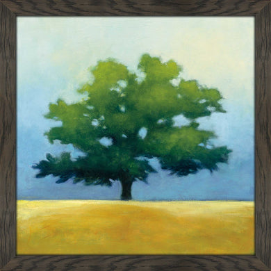 Under the Oak I by Julia Purinton Print on Acrylic Landscapes,Green art,Square Shape,All Acrylic Art,Julia Purington,All Subjects,All Colors,All Shapes,All Artists