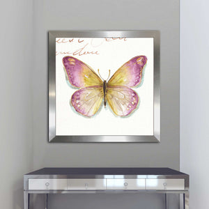 Rainbow Seeds Butterflies IC by Lisa Audit Print on Acrylic Animals,Pink art,Square Shape,All Acrylic Art,Lisa Audit,All Subjects,All Colors,All Shapes,All Artists