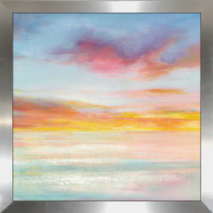 Pastel Sky II Print on Acrylic Abstract,Blue art,Square Shape,All Acrylic Art,Danhui Nai,All Subjects,All Colors,All Shapes,All Artists