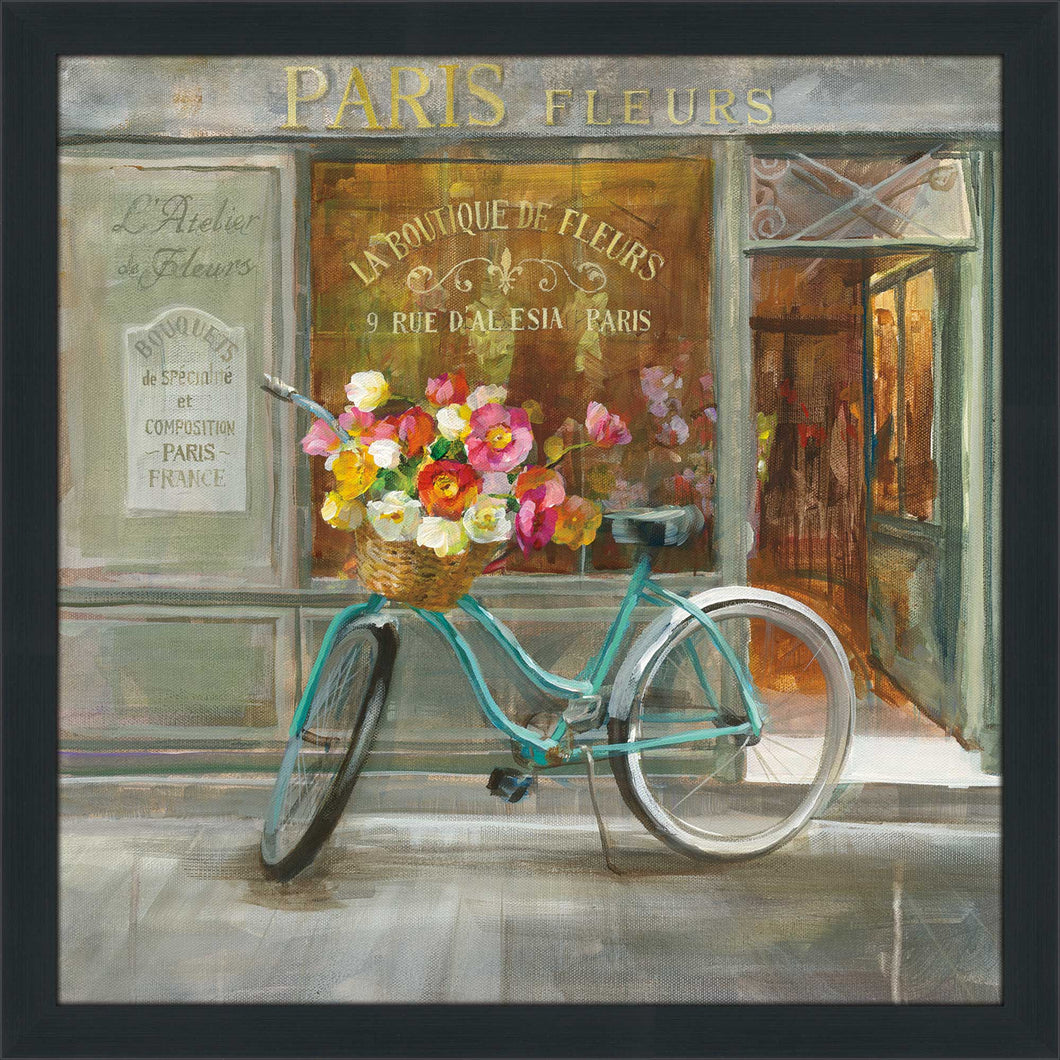 French Flowershop Print on Acrylic Food and beverage,Gray art,Square Shape,All Acrylic Art,Danhui Nai,All Subjects,All Colors,All Shapes,All Artists