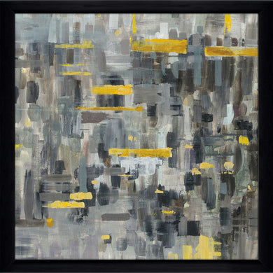 Reflections Crop II Print on Acrylic Abstract,Gray art,Square Shape,All Acrylic Art,Danhui Nai,All Subjects,All Colors,All Shapes,All Artists