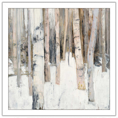 Warm Winter Light I by Julia Purinton Print on Acrylic Landscapes,White art,Square Shape,All Acrylic Art,Julia Purington,All Subjects,All Colors,All Shapes,All Artists