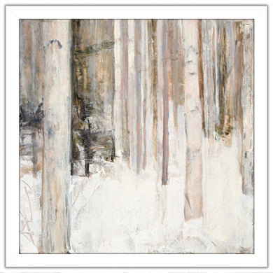Warm Winter Light II by Julia Purinton Print on Acrylic Landscapes,White art,Square Shape,All Acrylic Art,Julia Purington,All Subjects,All Colors,All Shapes,All Artists