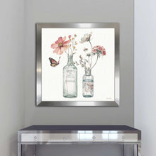 A Country Weekend X by Lisa Audit Print on Acrylic Floral,White art,Square Shape,All Acrylic Art,Lisa Audit,All Subjects,All Colors,All Shapes,All Artists