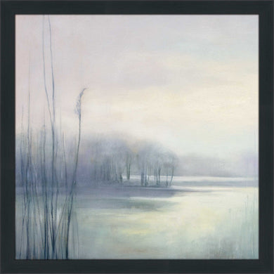 Misty Memories II by Julia Purinton Print on Acrylic Landscapes,Gray art,Square Shape,All Acrylic Art,Julia Purington,All Subjects,All Colors,All Shapes,All Artists