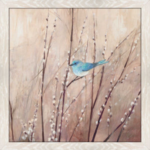 Pretty Birds I by Julia Purinton Print on Acrylic Floral,Brown art,Square Shape,All Acrylic Art,Julia Purington,All Subjects,All Colors,All Shapes,All Artists