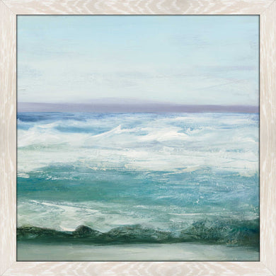 Azure Ocean I by Julia Purinton Print on Acrylic Sea and Shore,Blue art,Square Shape,All Acrylic Art,Julia Purington,All Subjects,All Colors,All Shapes,All Artists