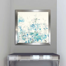 Translucent Garden Blue I Print on Acrylic Floral,Blue art,Square Shape,All Acrylic Art,Danhui Nai,All Subjects,All Colors,All Shapes,All Artists