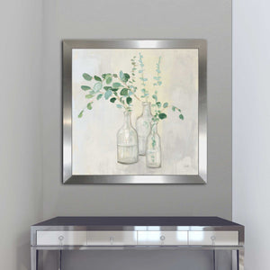 Summer Cuttings I by Julia Purinton Print on Acrylic Floral,Gray art,Square Shape,All Acrylic Art,Julia Purington,All Subjects,All Colors,All Shapes,All Artists