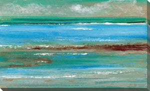 Tidal Pool III by Tava Studios Print on CanvasAbstract,Blue art, Landscape Shape,Tava Studios,All Canvas Art,All Subjects,All Colors,All Shapes,All Artists