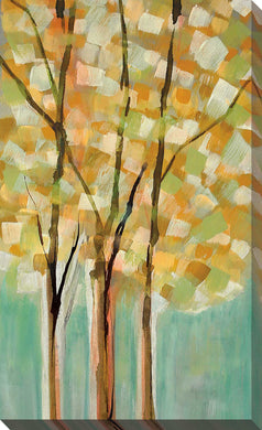 Shandelee Woods II by Susan Jill Print on CanvasLandscapes,Yellow art, Portrait Shape,Susan Jill,All Canvas Art,All Subjects,All Colors,All Shapes,All Artists