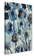 Forget Me Not I by Susan Jill Print on CanvasFloral,Blue art, Portrait Shape,Susan Jill,All Canvas Art,All Subjects,All Colors,All Shapes,All Artists