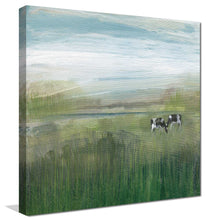 Grazing In Shandelee 1 by Susan Jill Print on CanvasRustic & Country,Green art, Square Shape,Susan Jill,All Canvas Art,All Subjects,All Colors,All Shapes,All Artists,Rustic & Country,Animals