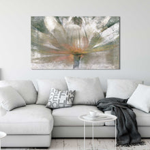 Lily Light by Mike Calascibetta Print on CanvasFloral,Gray art, Landscape Shape,Mike Calascibetta,All Canvas Art,All Subjects,All Colors,All Shapes,All Artists